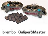 brembo Caliper&Master