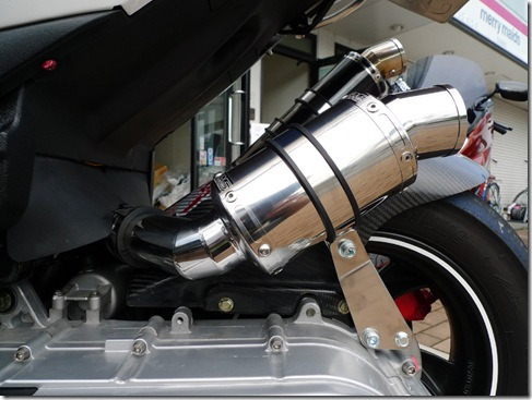 PGO G-MAX 220用 エアクリーナー Ver.大蛇 R5-SP 完成