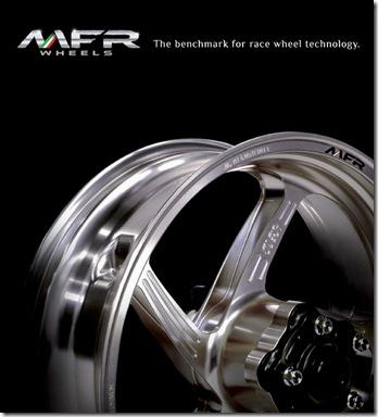 MFR 【AF】 TMAX専用 アルミ鍛造ホイール