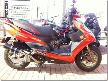 キムコ レーシング 150 カスタム!!