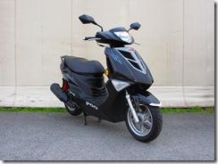 PGO TIGRA125 新色 ブラック 販売開始!!