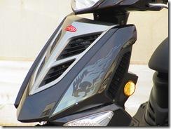 PGO TIGRA125新色ブラック
