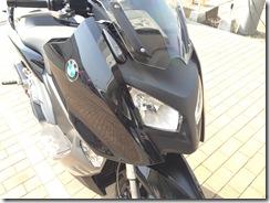 BMW C600 ミラーポストカバー (2)